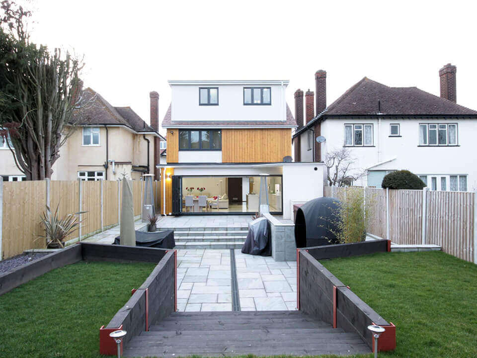Residential refurbishment, extension & loft conversion - Slide Image 2
