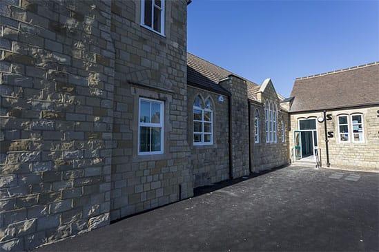 King John School,Humanities Block.
