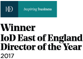Winner of IoD East of England Director of the year