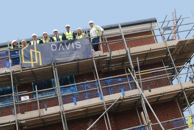 Topping Out at Emerson Park School